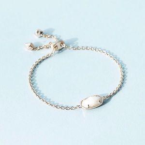 Kendra Scott Elaina Bracelet White Pearl